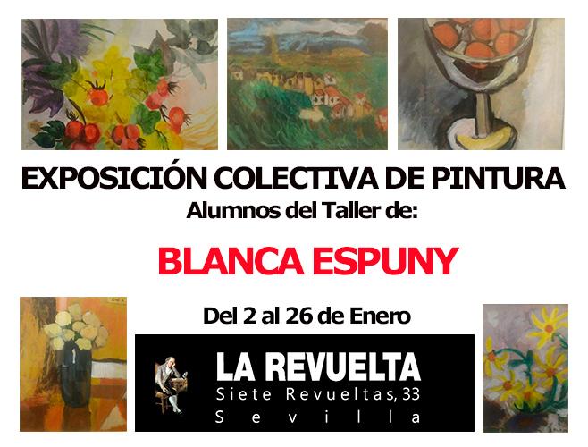 exposición colectiva de pinturas