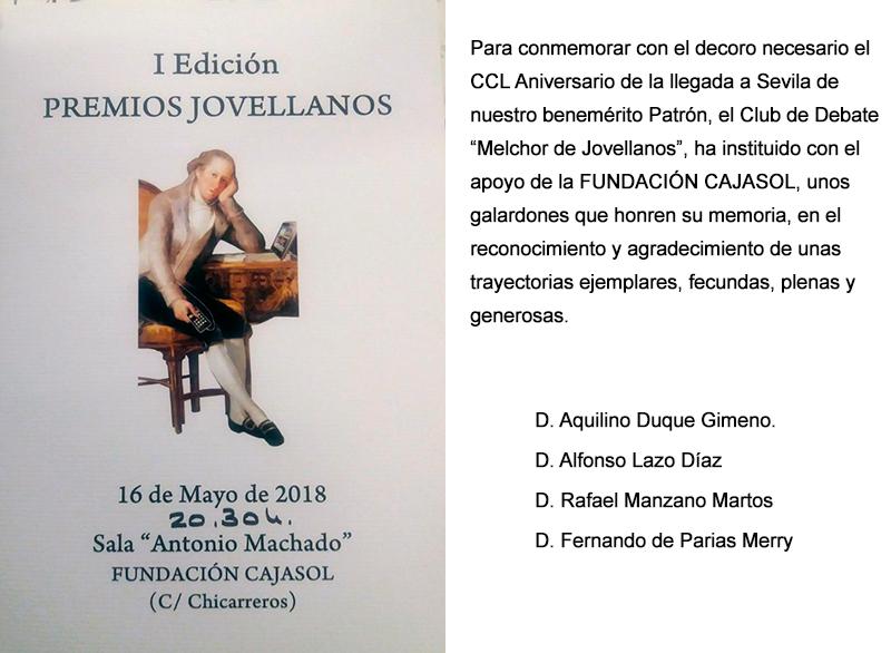 I Edicion Premios Jovellanos