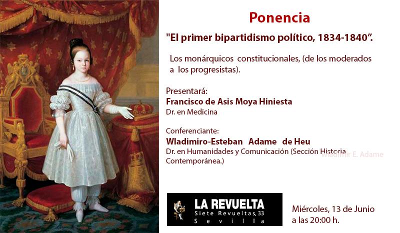 el primer bipartidismo político 1834-1840